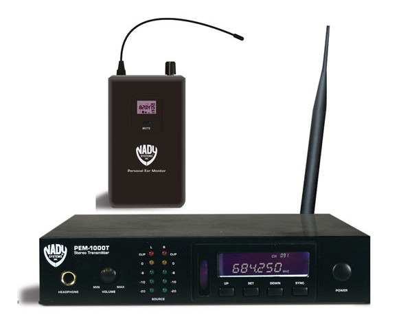 Nady PEM-1000 UHF Wireless In-Ear Monitor System